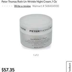 PETER THOMAS ROTH NIGHT CREAM, 1 OZ